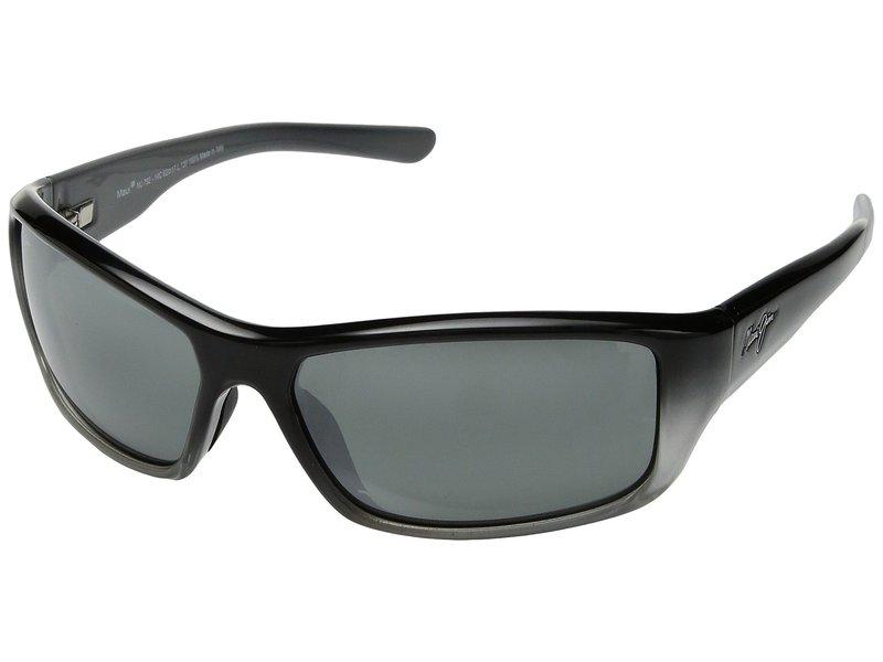 マウイジム メンズ サングラス・アイウェア アクセサリー Barrier Reef Black/Silver/Grey/Neutral Grey