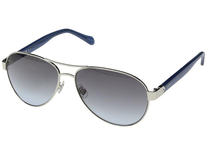 フォッシル レディース サングラス・アイウェア アクセサリー FOS 3079/S Silver/Grey