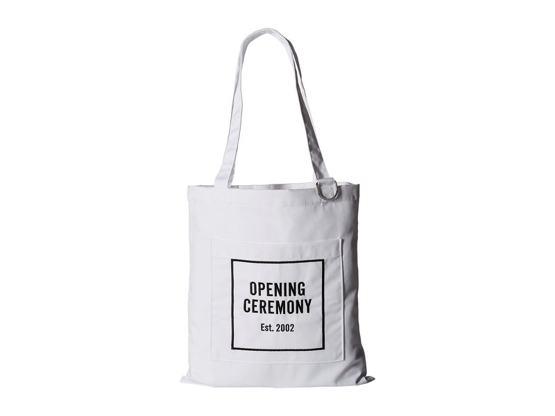 オープニングセレモニー レディース ハンドバッグ バッグ Classic Tote Bag White