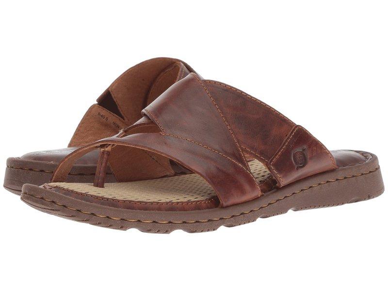 ボーン レディース サンダル シューズ Sorja II Brown Full Grain Leather