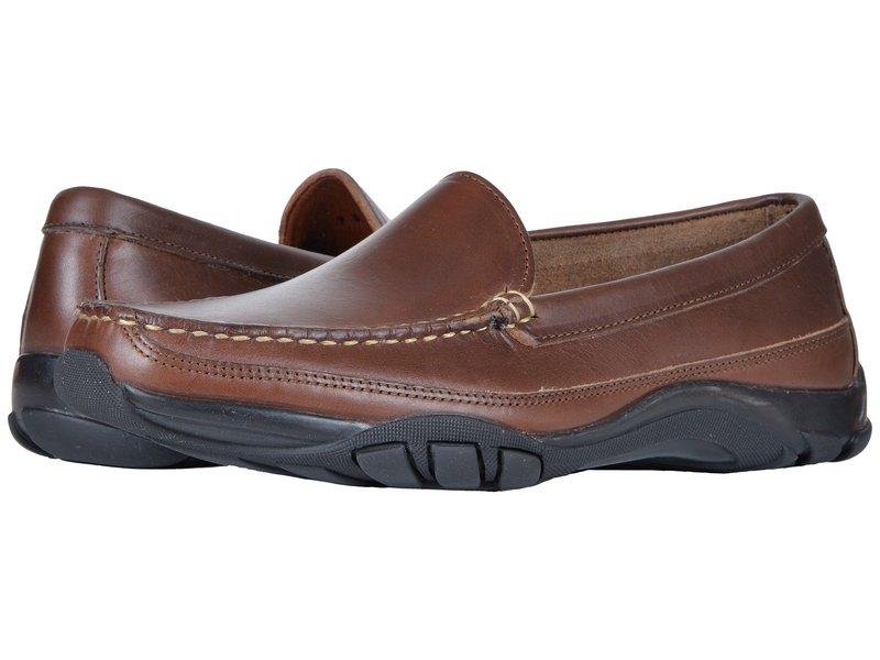 アレン エドモンズ メンズ スリッポン・ローファー シューズ Boulder Brown Leather