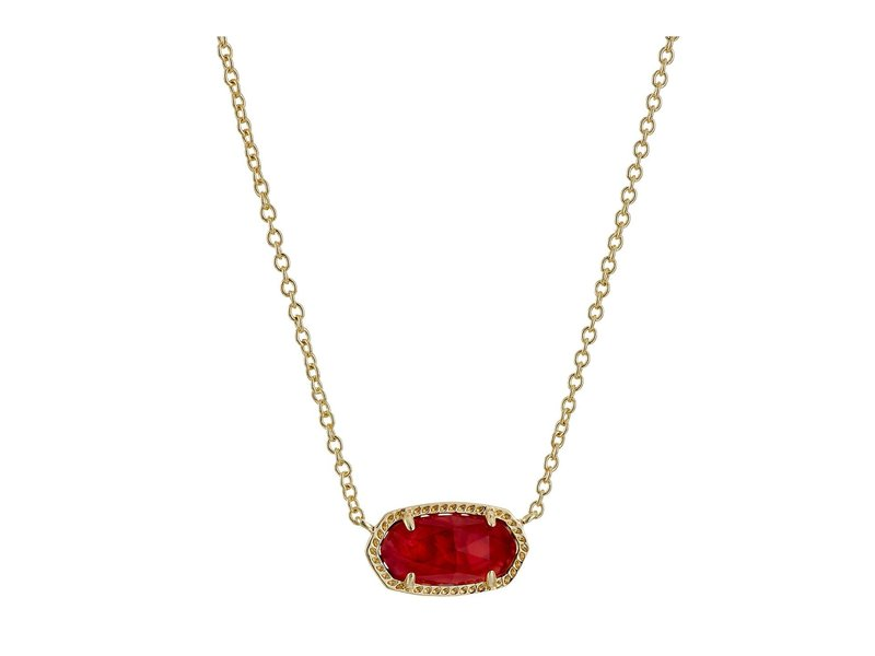 ケンドラスコット レディース レディース ネックレス・チョーカー・ペンダントトップ アクセサリー Elisa Birthstone Illusion Necklace Necklace October/Gold/Berry Illusion, ナリタシ:f4149eeb --- m.vacuvin.hu