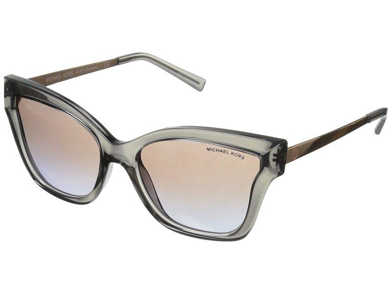 マイケルコース レディース サングラス・アイウェア アクセサリー Barbados 0MK2072 56mm Grey Transparent Injected/Brown Purple Flash