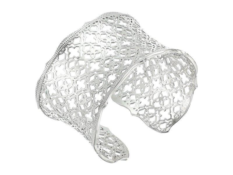 ケンドラスコット レディース ブレスレット・バングル・アンクレット アクセサリー Candice Bracelet Rhodium Metal