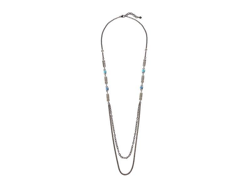 ブライトン レディース ネックレス・チョーカー・ペンダントトップ アクセサリー Marrakesh Bazaar Long Necklace Blue