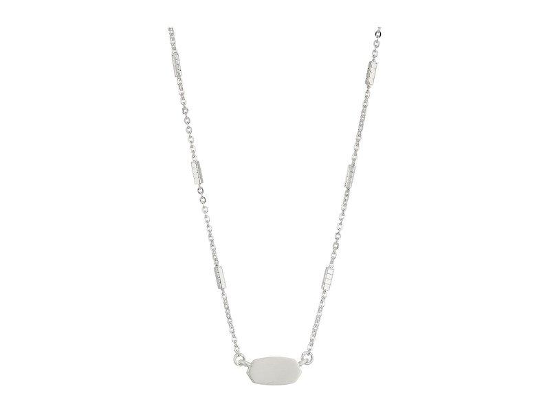 ケンドラスコット レディース ネックレス・チョーカー・ペンダントトップ アクセサリー Fern Necklace Bright Silver