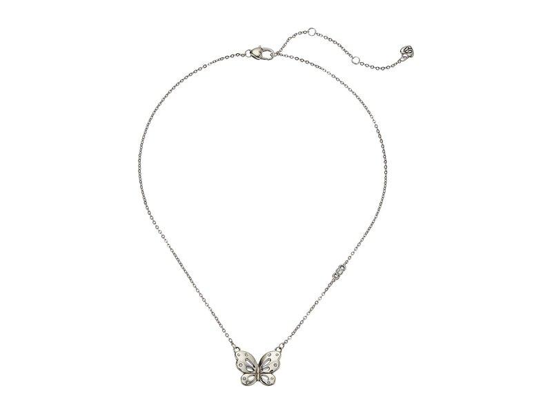 ブライトン レディース ネックレス・チョーカー・ペンダントトップ アクセサリー Butterfly Kiss Petite Necklace Crystal