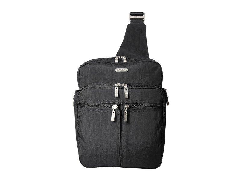 バッガリーニ レディース バックパック・リュックサック バッグ Messenger Bag with RFID Wristlet Charcoal
