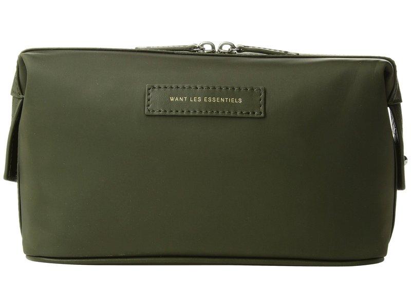ウォントレスエッセンシャル メンズ ボストンバッグ バッグ Kenyatta Nylon Dopp Kit Duffel Green