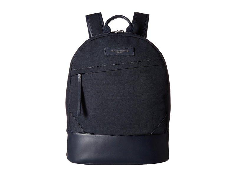 ウォントレスエッセンシャル メンズ バックパック・リュックサック バッグ Kastrup Backpack Navy/Navy