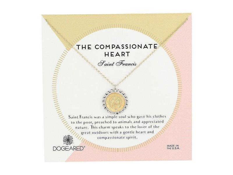 ドジャード レディース ネックレス・チョーカー・ペンダントトップ アクセサリー The Compassionate Heart Two-Tone St. Francis Necklace Gold Dipped