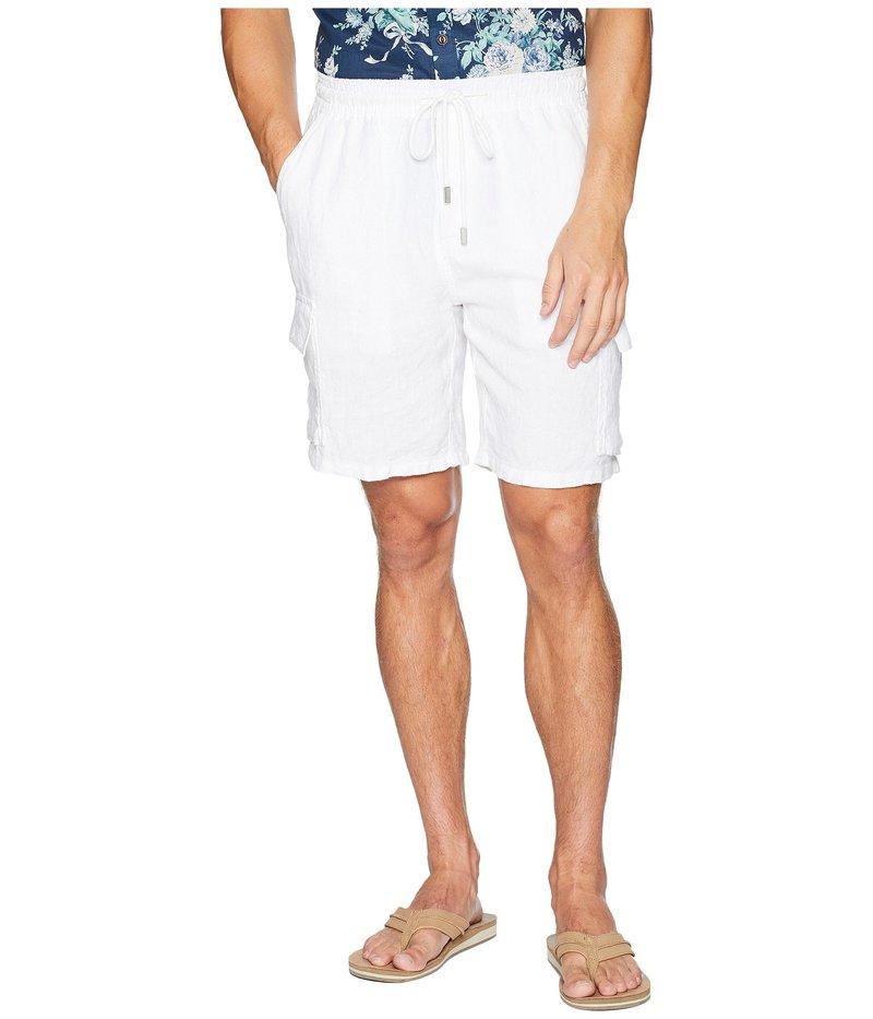 ヴィルブレクイン メンズ ハーフパンツ・ショーツ ボトムス Drawstring Pocket Shorts White