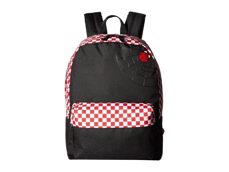バンズ レディース バックパック・リュックサック バッグ Spidey Realm Backpack Black/Racing Red