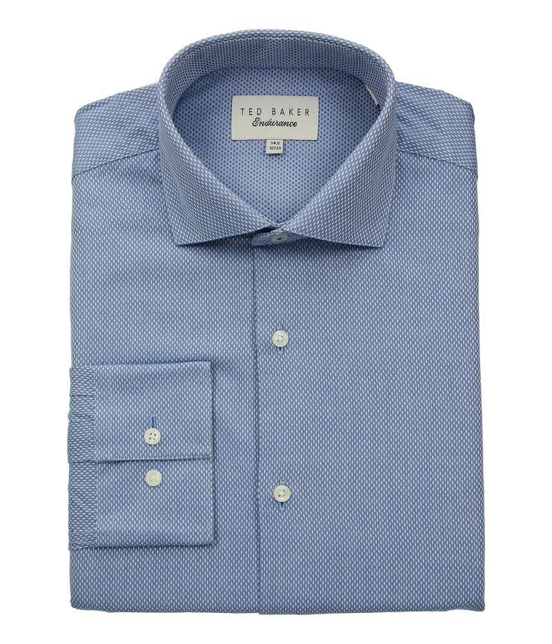 テッドベーカー メンズ シャツ トップス Endurance Slick Rick Shirt Blue