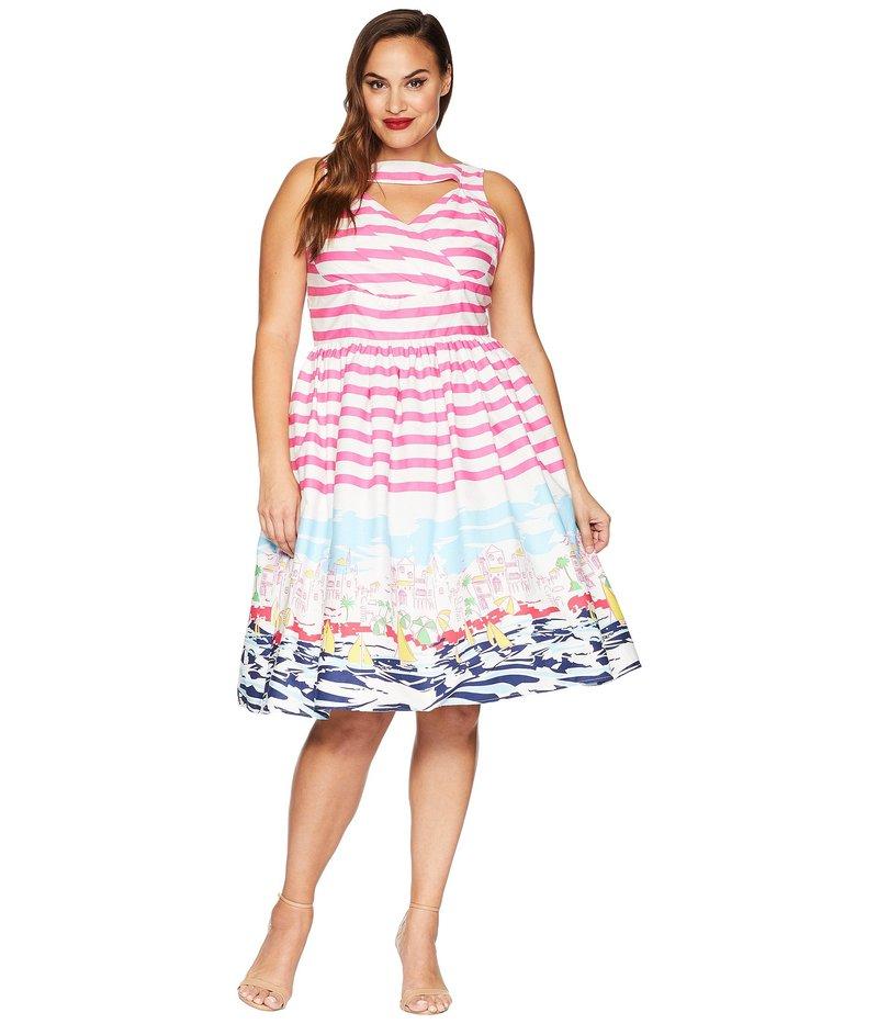 New Ladies Lora Gene Cream Jersey Stretch Dress Size 10 £225