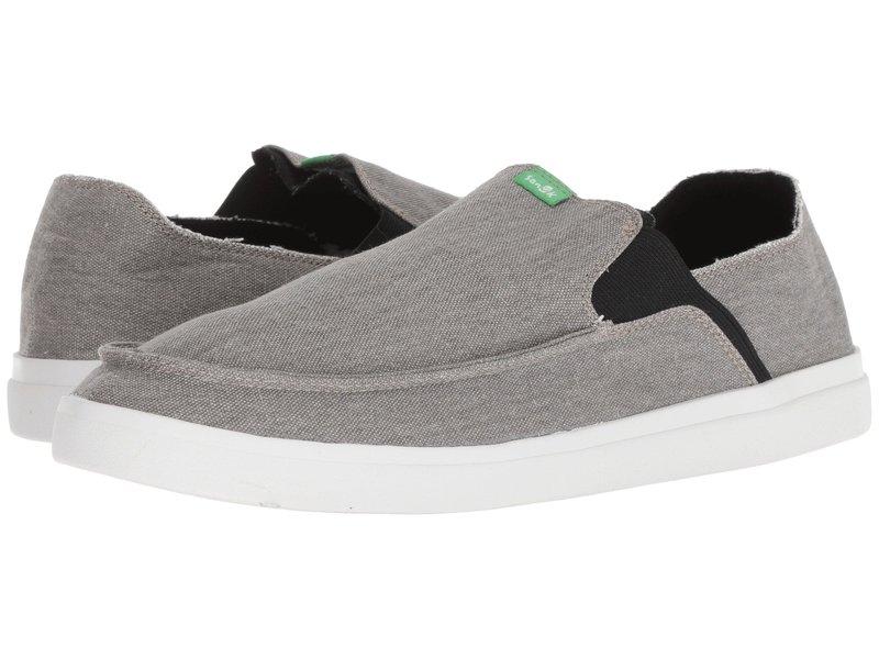 サヌーク メンズ スニーカー シューズ Pick Pocket Slip-On Sneaker Grey