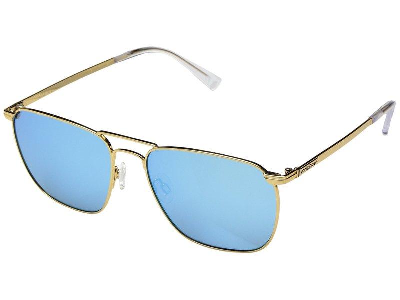 ボンジッパー メンズ サングラス・アイウェア アクセサリー League Gold Gloss/Blue Chrome