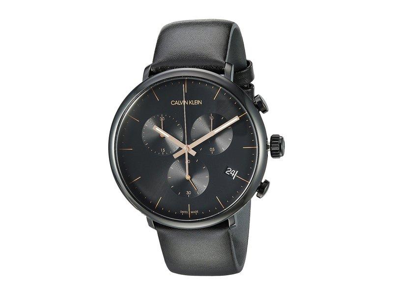 カルバンクライン メンズ 腕時計 アクセサリー High Noon Watch - K8M274CB Black