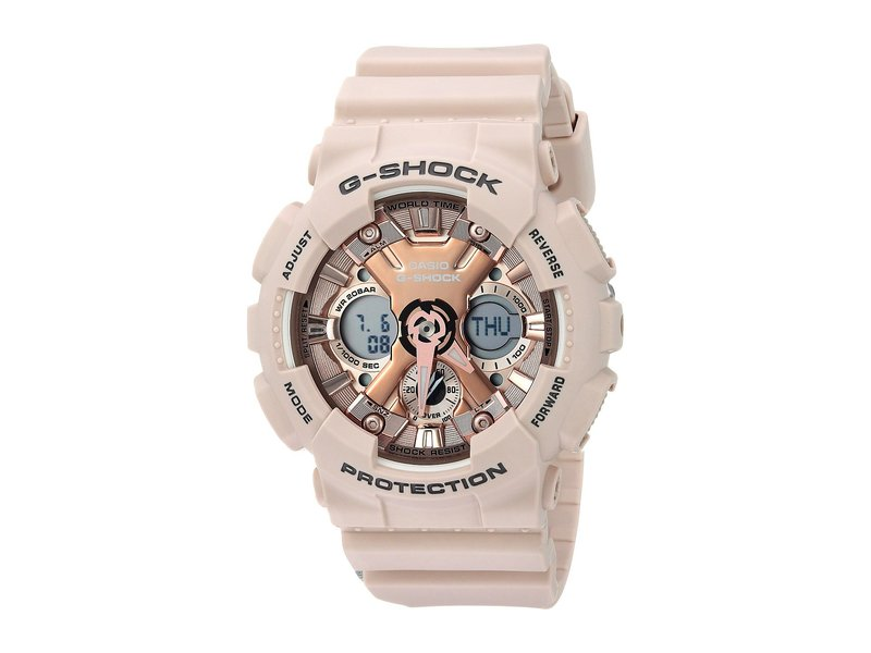 ジーショック レディース 腕時計 アクセサリー GMA-S120MF-4ACR Pink