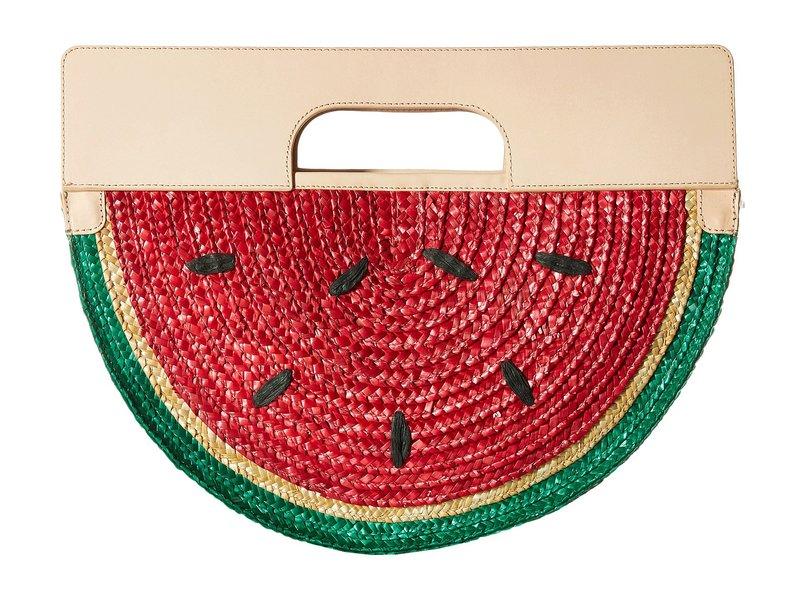 アリス アンド オリビア レディース ハンドバッグ バッグ Donna Watermelon Half Circle Bag Multi