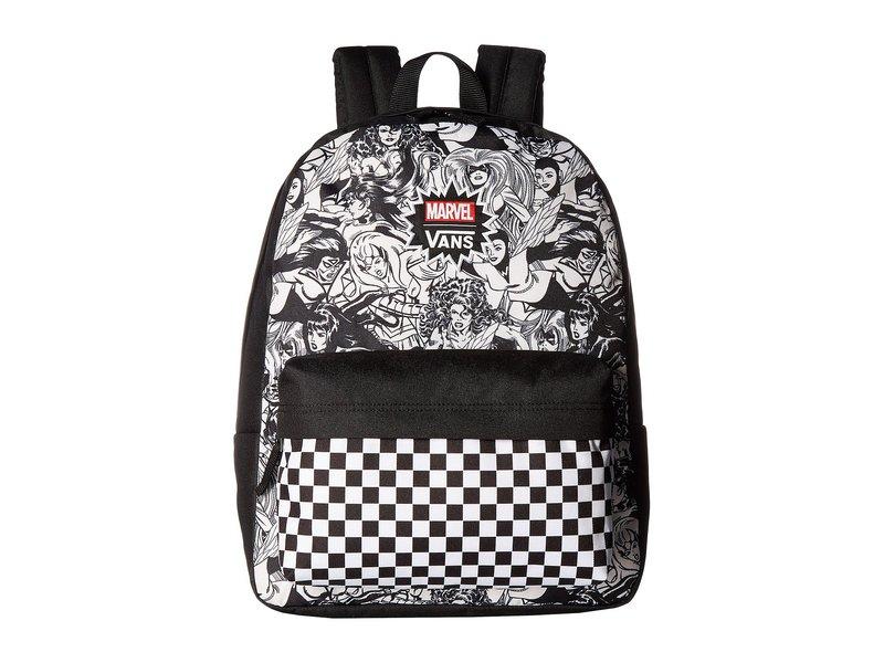 バンズ レディース バックパック・リュックサック バッグ Marvel Women Realm Backpack Black