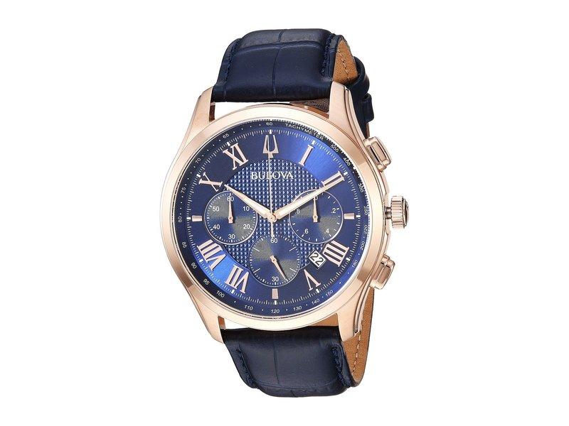 ブロバ メンズ 腕時計 アクセサリー Wilton - 97B170 Blue