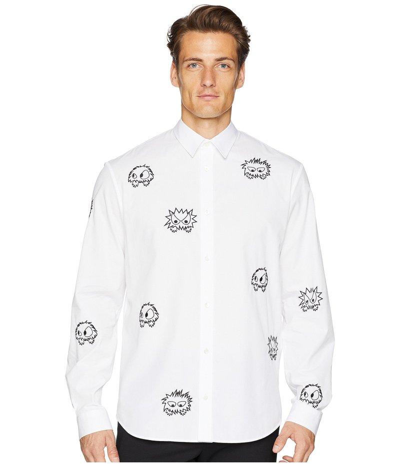 アレキサンダー・マックイーン メンズ シャツ トップス Monster Shirt White