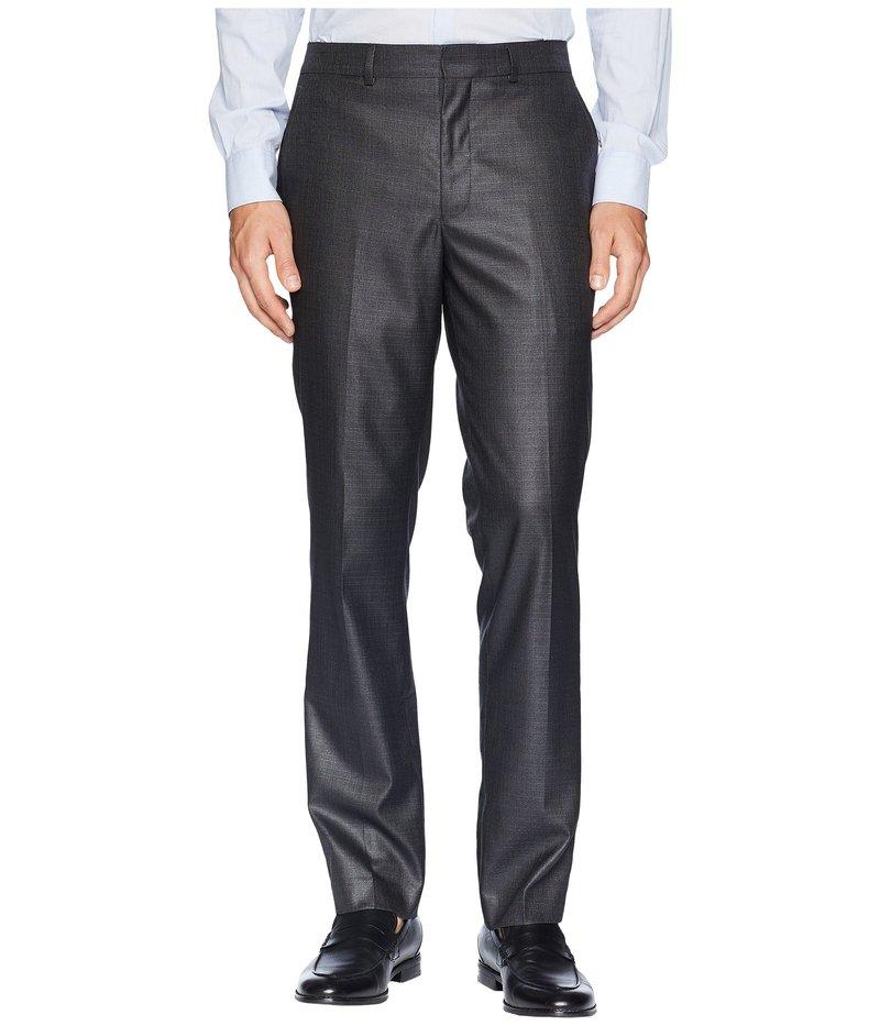 ケネスコール メンズ カジュアルパンツ ボトムス Techni-Cole Suit Separate Stretch Pants Gunmetal Basket Weave