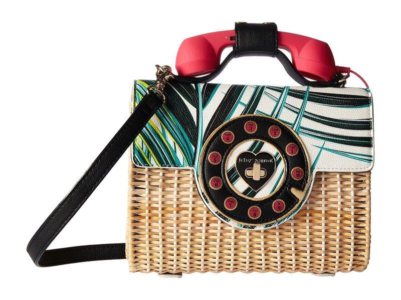 ベッツィジョンソン レディース ハンドバッグ バッグ Mini Phone Bag Multi