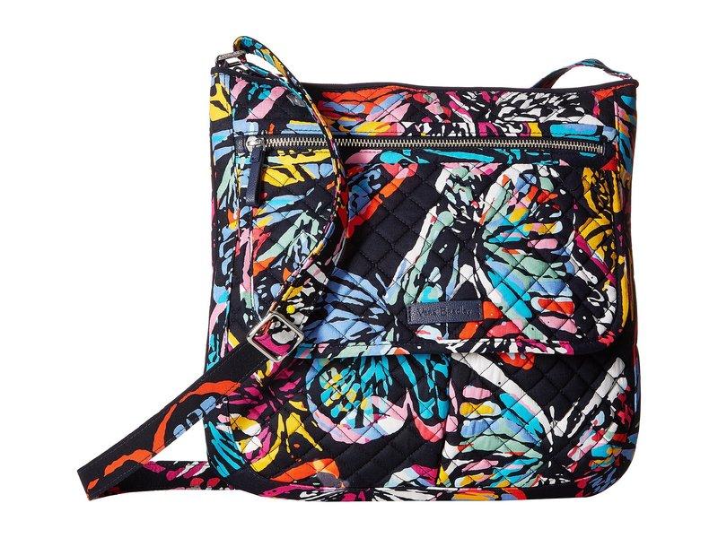 ベラブラッドリー レディース ハンドバッグ バッグ Iconic Mailbag Butterfly Flutter