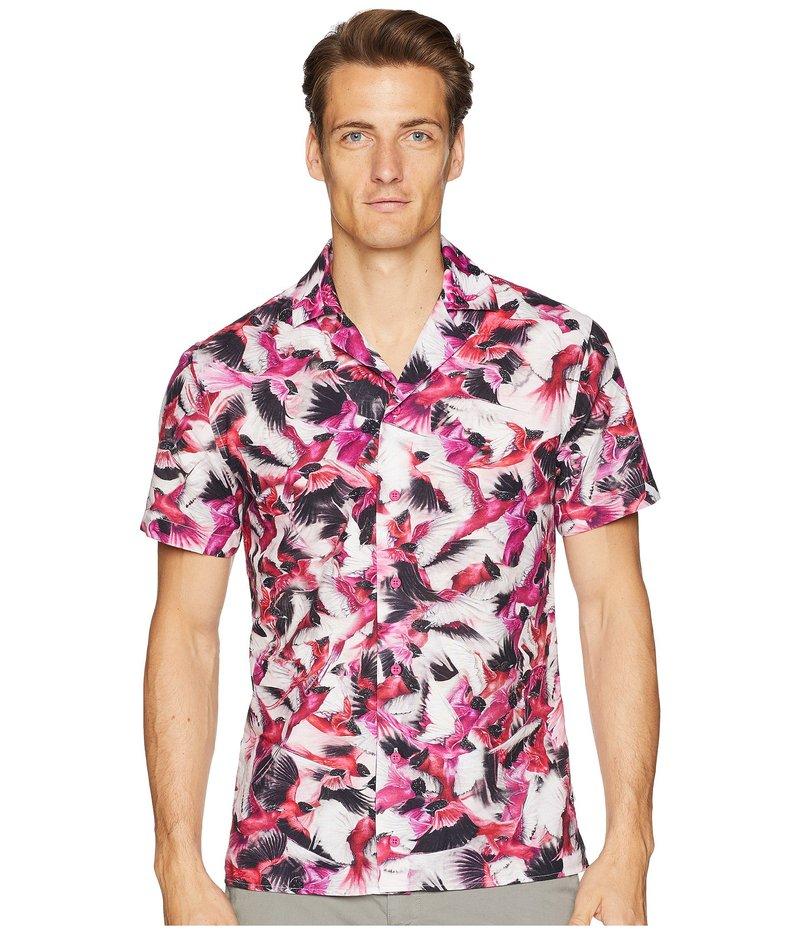 オールバー ブラウン メンズ シャツ トップス Travis Birds Of Paradise Resort Shirt Birds of Paradise