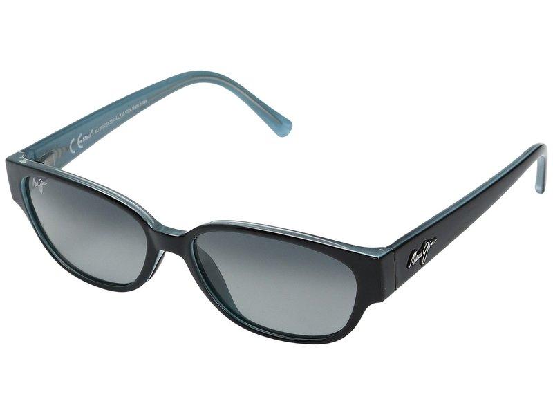 マウイジム レディース サングラス・アイウェア アクセサリー Punchbowl Black/Blue/Neutral Grey Lens