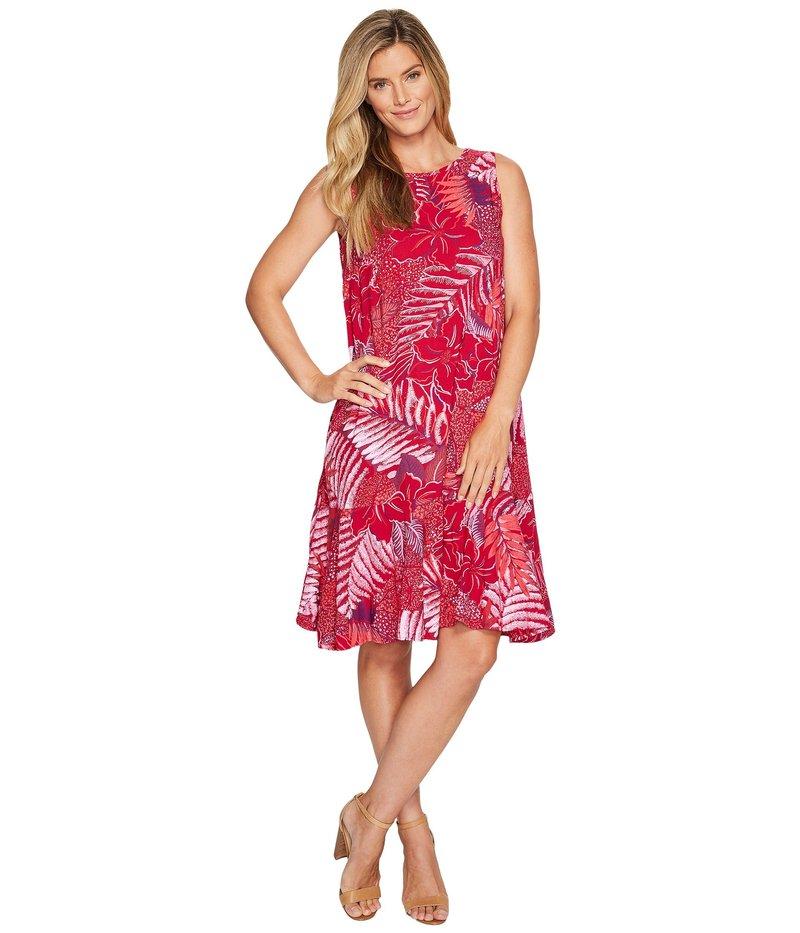 フレッシュプロデュース レディース ワンピース トップス Colored Pencils Trapeze Dress Persian Red