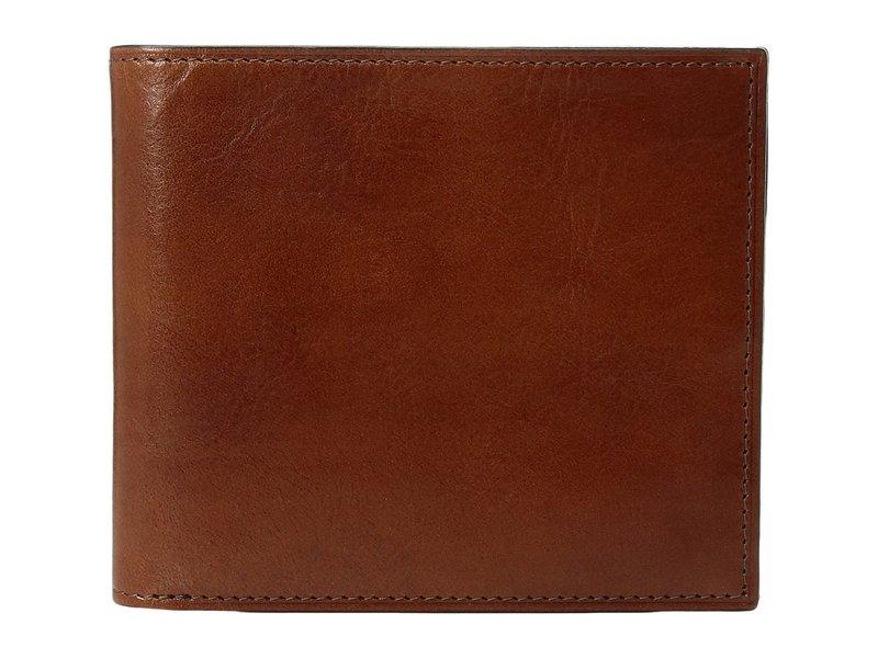 ボスカ メンズ 財布 アクセサリー Old Leather Collection - Eight-Pocket Deluxe Executive Wallet w/ Passcase Amber