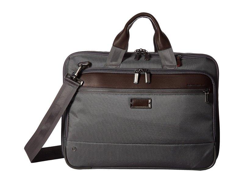 ブリグスアンドライリー メンズ ビジネス系 バッグ @work Medium Expandable Brief Grey