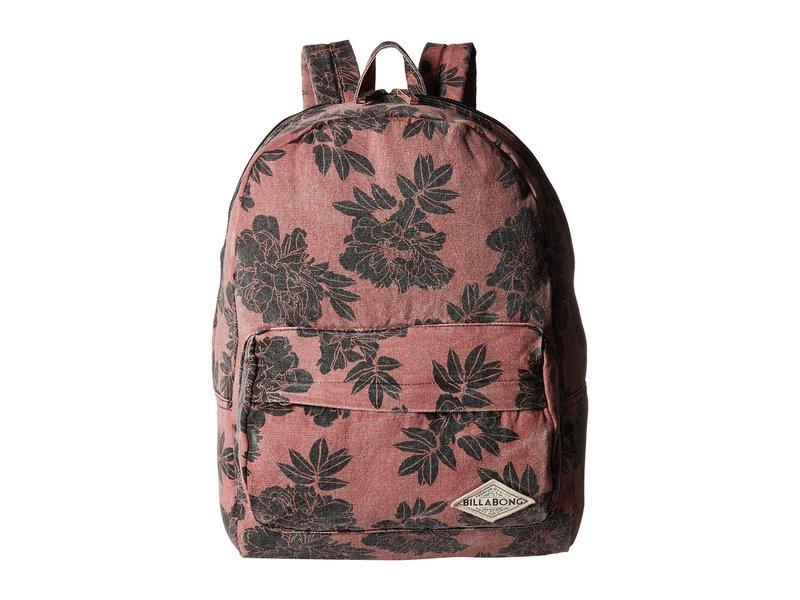 ビラボン レディース バックパック・リュックサック バッグ Hand Over Love Backpack Vintage Plum