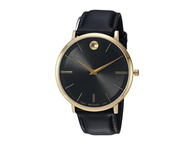 モバド メンズ 腕時計 アクセサリー Ultra Slim - 0607087 Black