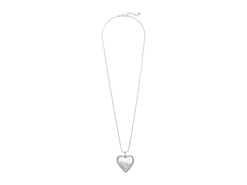 ブライトン レディース ネックレス・チョーカー・ペンダントトップ アクセサリー Pure Love Shaker Long Necklace Silver