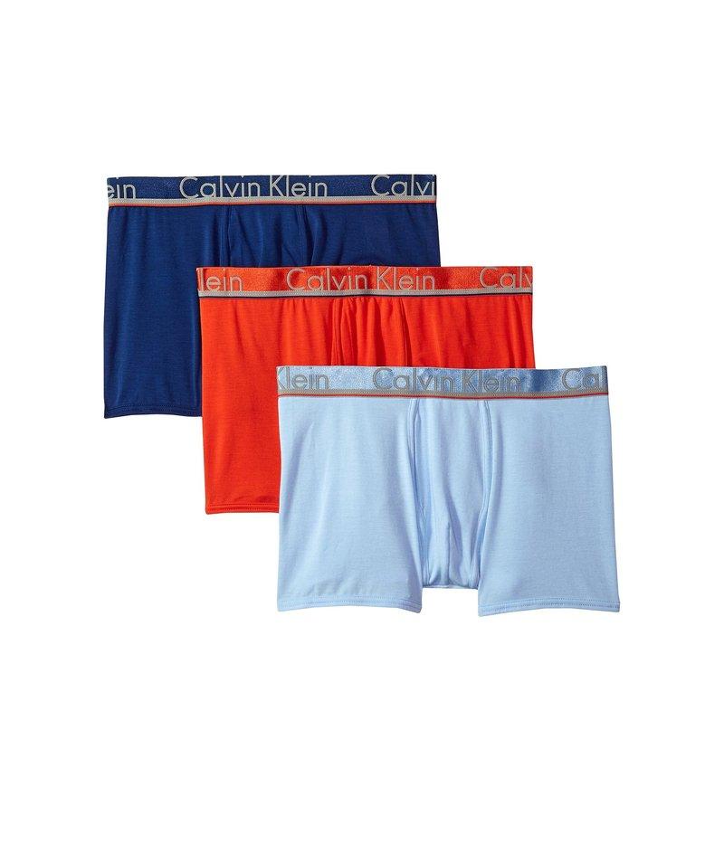 最低価格の カルバン クライン クライン アンダーウェア Comfort メンズ トランクス アンダーウェア Blue/Oriole Comfort Microfiber 3-Pack Trunk Rapid Blue/Estate Blue/Oriole, タカキチョウ:ca0eccdc --- supercanaltv.zonalivresh.dominiotemporario.com