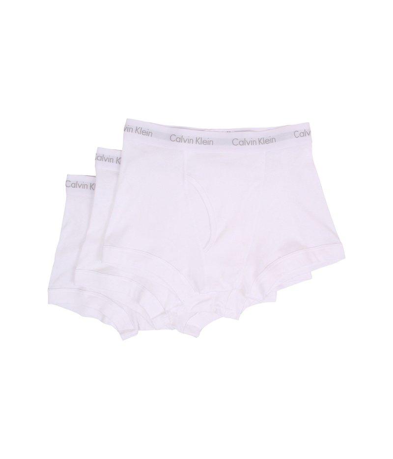 見事な創造力 カルバン クライン アンダーウェア メンズ トランクス メンズ アンダーウェア Cotton Classics Trunk トランクス Cotton 3-Pack NB1119 White, サントウチョウ:574e4bd0 --- supercanaltv.zonalivresh.dominiotemporario.com
