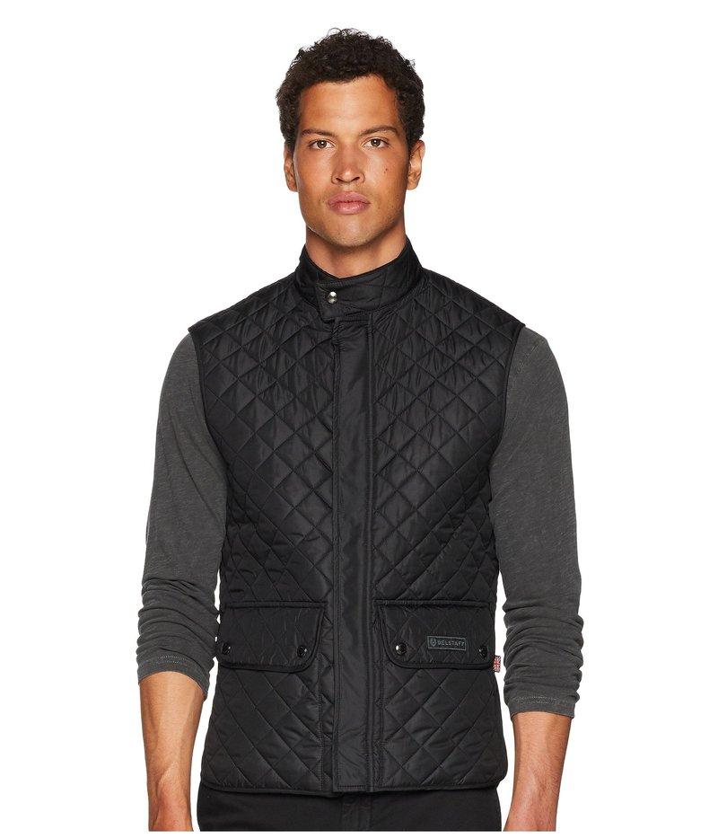ベルスタッフ メンズ コート アウター Lightweight Technical Quilted Waistcoat Black