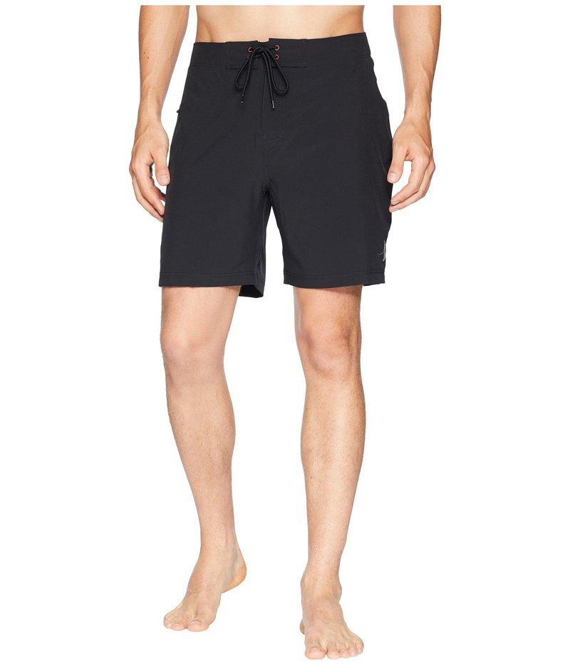 トゥーオンザノーズ メンズ ハーフパンツ・ショーツ スイムウェア Jaws Stretch Boardshorts Black