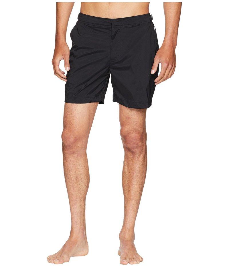 オールバー ブラウン メンズ ハーフパンツ・ショーツ スイムウェア Bulldog Sport Swim Shorts Black