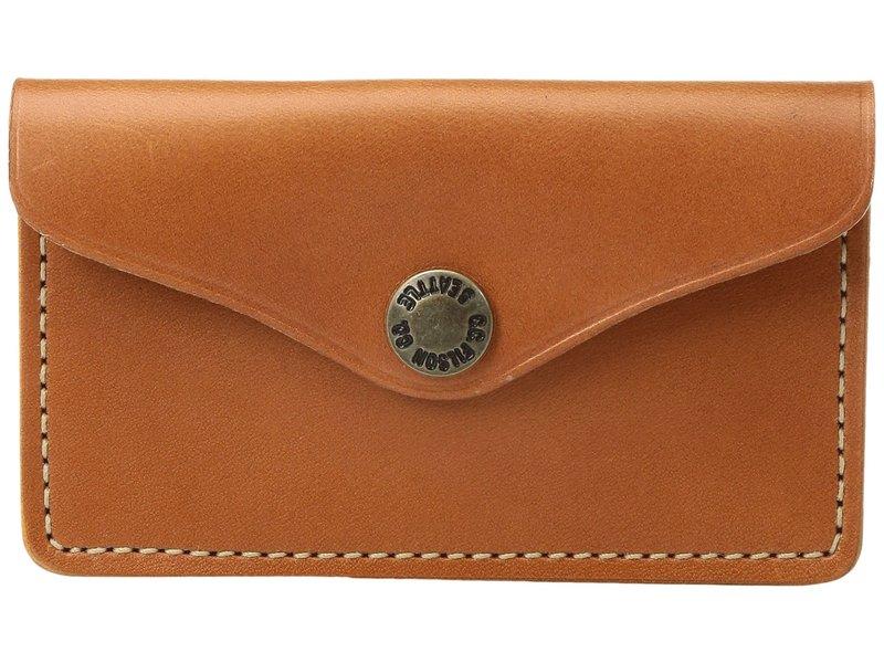 フィルソン メンズ 財布 アクセサリー Snap Wallet Tan Leather