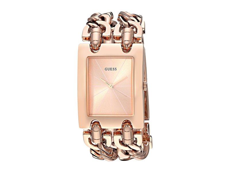 ゲス レディース 腕時計 アクセサリー U1117L3 Rose Gold/Bronze