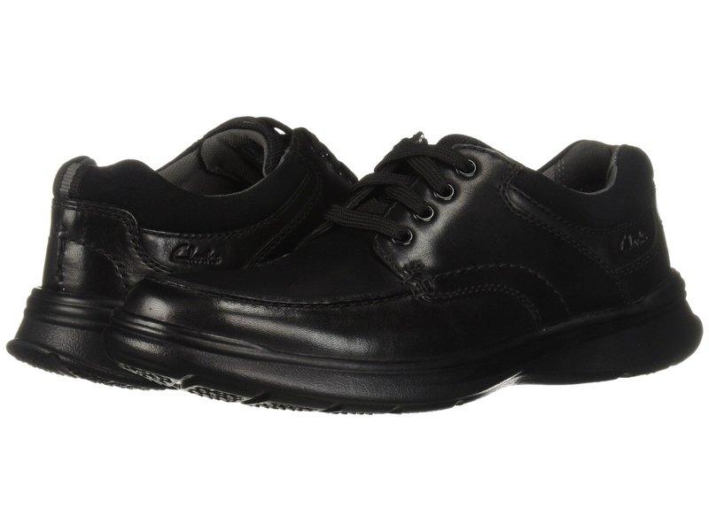クラークス メンズ オックスフォード シューズ Cotrell Edge Black Smooth Leather