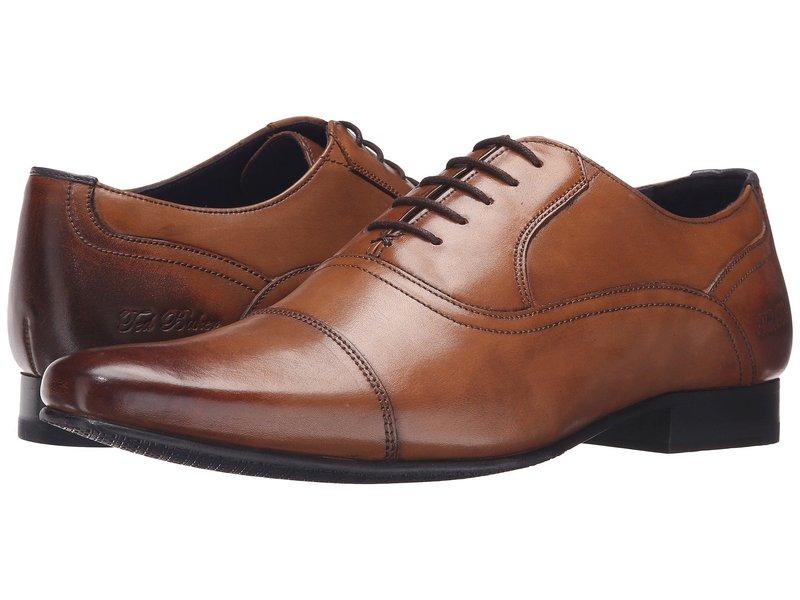 テッドベーカー メンズ オックスフォード シューズ Rogrr 2 Tan Leather