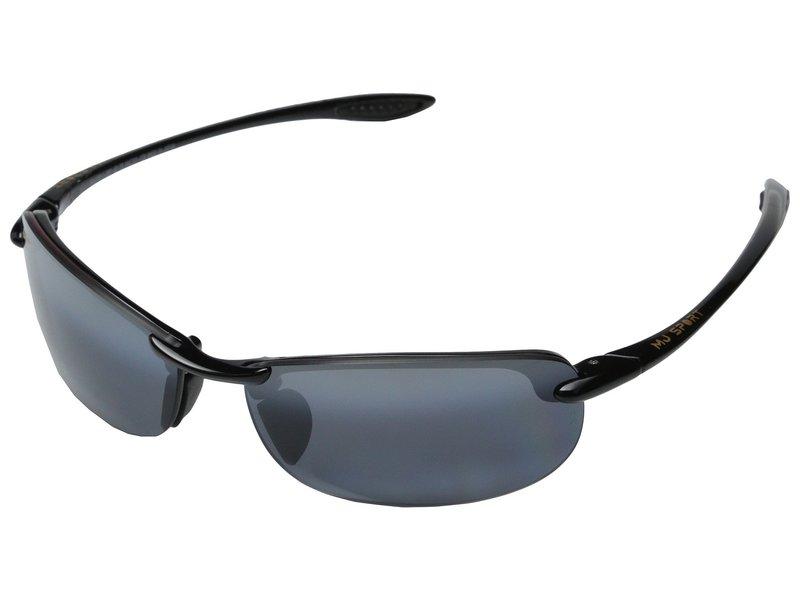 マウイジム メンズ サングラス・アイウェア アクセサリー Makaha Readers Gloss Black/Neutral Grey Lens/2.5 Lens