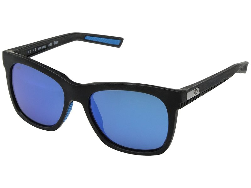 コスタ メンズ サングラス・アイウェア アクセサリー Caldera Net Gray/Blue Rubber Blue Mirror 580G