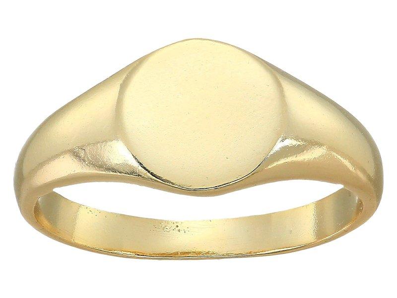 シャシ レディース リング アクセサリー Starburst Signet Ring Gold